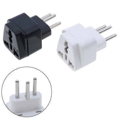 Universal UK,US,EU to Switzerland Swiss AC power plug travel adapter converters^