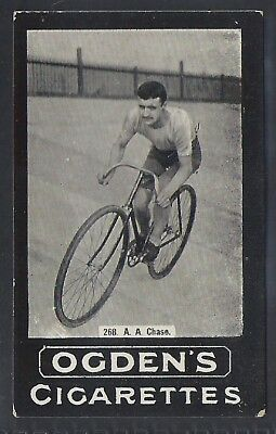 Ogdens Tabs-Series F Cycling Card-#f268- A. A. Chase
