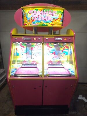 Summer Time By Cromptons Double Quarter Pusher Slider Arcade Game