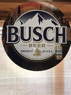 Busch Beer Sign