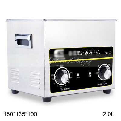 Digital Ultrasonic Jewellery Cleaning Spectacle Sunglasses Cleaner Machine 2L