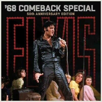 Elvis Presley '68 Comeback Special 50th anny 5 CD / 2 Blu-ray box set NEW/SEALED