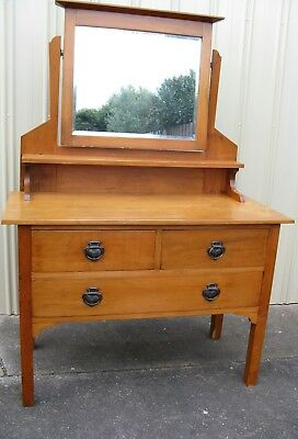 Antique Kauri Pine Dressing Table.