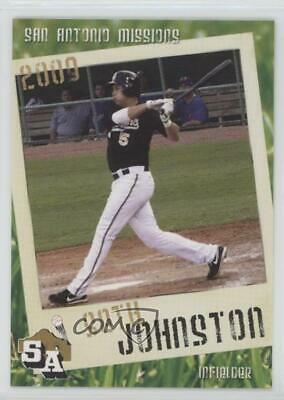 2009 Grandstand San Antonio Missions #SEJO Seth Johnston Rookie Baseball Card