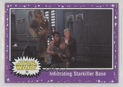 Star Wars The Last Jedi Green Base Card #32 Back on the Frigate
