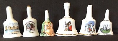 Miniature Bone China Souvenir  Bell Collection