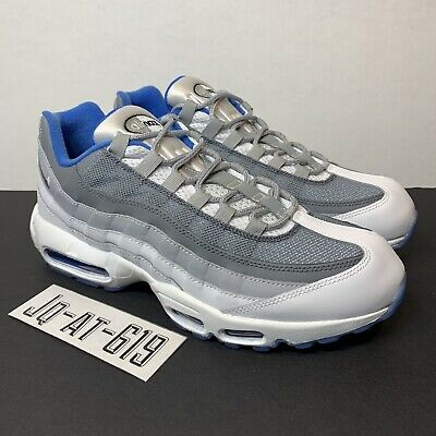 29906e3058 NIKE AIR MAX 95 Id Size 11 White/grey-Dark Grey-Blue 818592-995 ...