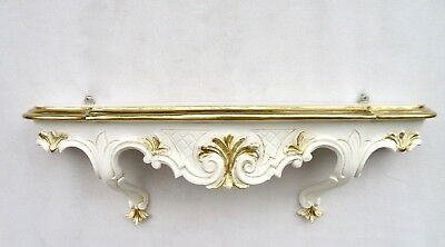 Wall Bracket Antique Baroque Console 49x21 Mirror Table Hängekonsole Telephone