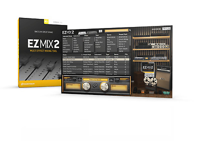 Toontrack Ezmix 2 Multi-Effect Mix Mixing Software Tool Plug-In Pc & Mac License