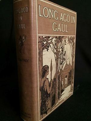 1927 Long Ago In Gaul Celtic Druid Fiction Occult Mystic Ancient History