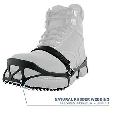 Mountaineering Non-slip Shoe Ice Cleat Spikes Spring Snow Anti-slip Claw EB