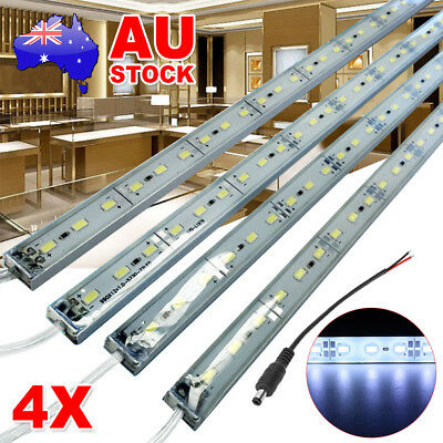 4X12V Cool White 5630 Led Strip Lights Bars Camping Caravan Boat Car Outdoor