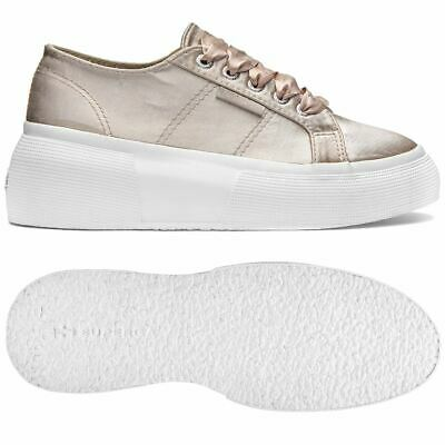 Superga Scarpe Donna 2287-SATINW Chic Zeppa
