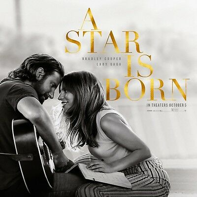 A Star Is Born (2018) - Original Soundtrack  (Lady Gaga + Bradley Cooper) [CD]