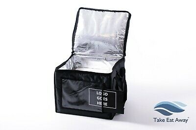 New Logo your Take Away Delivery Bag Insulated Durable Home Deleveries Bags T171