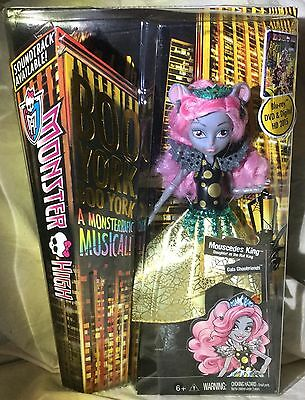 Monster High - Boo York Gala Ghoulfriends Mouscedes King