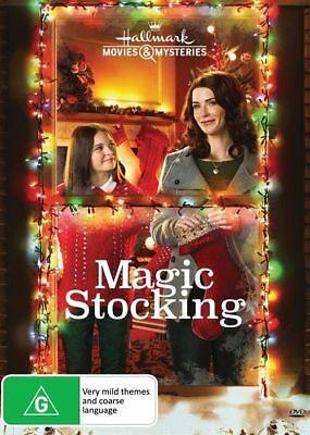 Magic Stocking (DVD, 2017) NEW R4 Christmas Movie
