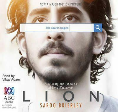 LION: A Long Way Home by Saroo Brierley (CD Audiobook) NEW