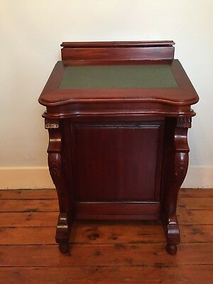 Antique Style Reproduction Davenport Desk Great Condition