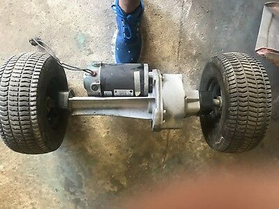 Drive GearBox And Motor, Advance Warrior ST Automatic Floor Scrubber Imperial El
