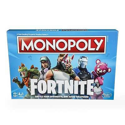 Monopoly: Fortnite Edition Board Game Inspired by Fortnite Video Game Ages 13...