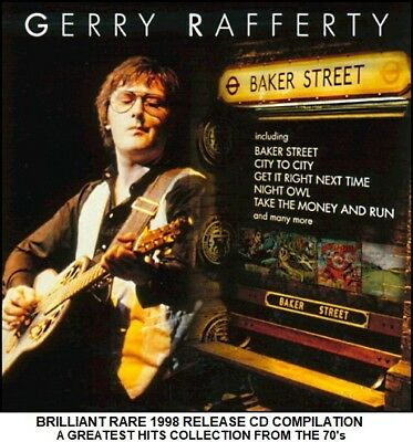 Gerry Rafferty - A Very Best Greatest Hits Collection - RARE 70's Pop Rock CD