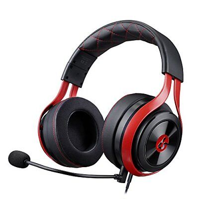 LucidSound LS25 eSports Pro Tournament Gaming Headset, Red/Black