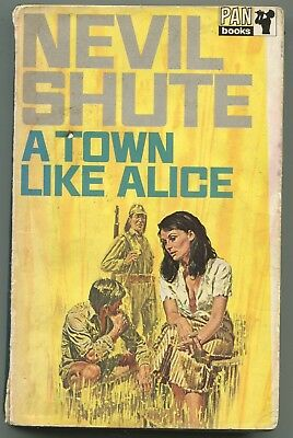 A Town Like Alice    by    Nevil Shute   paperback book  1969