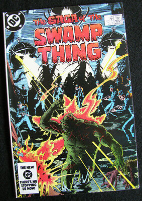 Swamp Thing 20 (1984) 1St Alan Moore Swamp Thing! High Grade! Large Photos! Nm-
