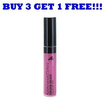 Manhattan Lipgloss Colour Splash 7ml Hint Of Pink 51P