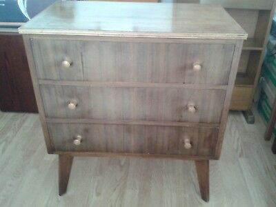 Vintage chest of drawers, Cumbrae Morris of Glasgow.
