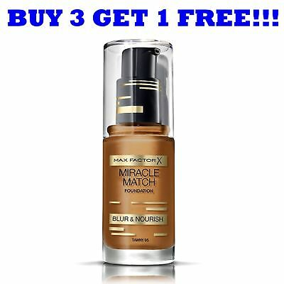 Max Factor Foundation Miracle Match 30ml Tawny 95