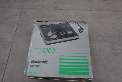 Philips Pdc 1010 Electronic Darkroom Timer