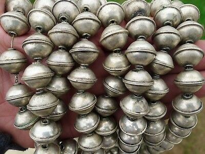 10 Perles Metal 17x15mm Maroc Bijou Collier Moroccan African Beads Necklace