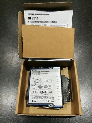 NATIONAL INSTRUMENTS NI-cRio NI 9211 80mV 24- BIT THERMOCOUPLE INPUT MODULE