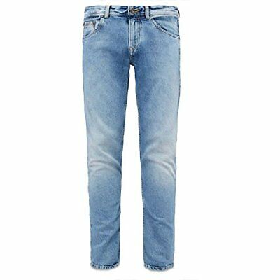 Timberland Men's Sargent Lake Slim Fit Denim Jeans Pants, Faded Blue, 34W 32L