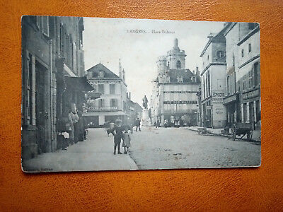 Cpa LANGRES - Place Diderot