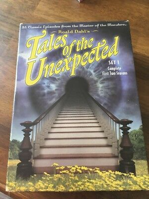Tales of the Unexpected - Set 1 (DVD, 2004, 4-Disc Set) Season 1 & 2