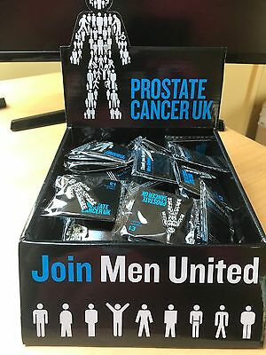 Brand New Prostate Cancer - (MEN UNITED) UK Pin Badge Sealed.