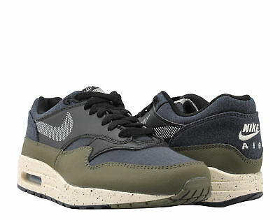 NIKE AIR MAX 1 SE Medium Olive Ripstop Retro Running Shoe US Men 12 AO1021 200
