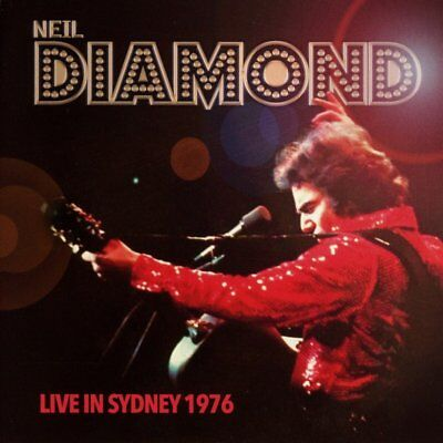 Neil Diamond ‎– Live In Sydney 1976 (2016)  2CD  NEW/SEALED  SPEEDYPOST