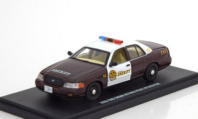 1:43 Greenlight Ford Crown Victoria Police Once Upon a Time 2005