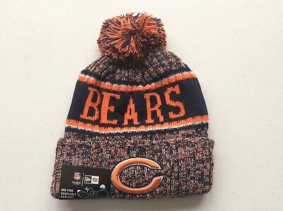 Chicago Bears 2018 Nfl New Era Official On Field Sideline Beanie Knit Hat  Nwt f8ffef824