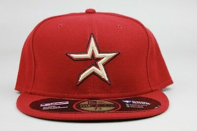 Houston Astros Cool Base Maroon Red Black MLB New Era 59Fifty Fitted Hat Cap