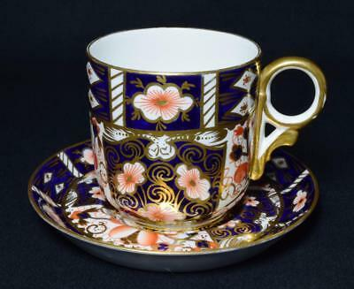 Antique Derby Porcelain Imari Tea Cup and Saucer Pattern 2451