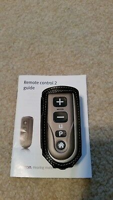 Unitron Remote Control 2 For Unitron Hearing Aids w/ Belt Clip-on Case
