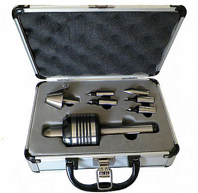 New Mt3 Precision Interchangeable Live Center Set With Morse Taper 3 For Lathe