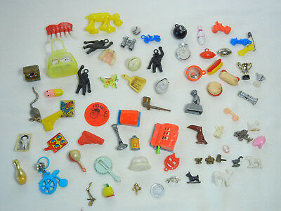 Fun Vintage Lot of Charms, Gumball toys and More!!