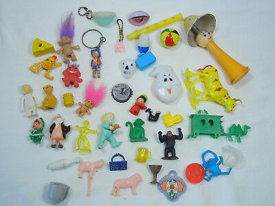 Vintage Lot of Charms, Pencil Toppers and Much More!!