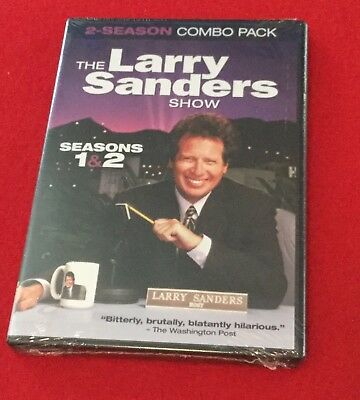 The Larry Sanders Show: Seasons 1 & 2 (DVD, 2014, 3-Disc Set) Brand New!